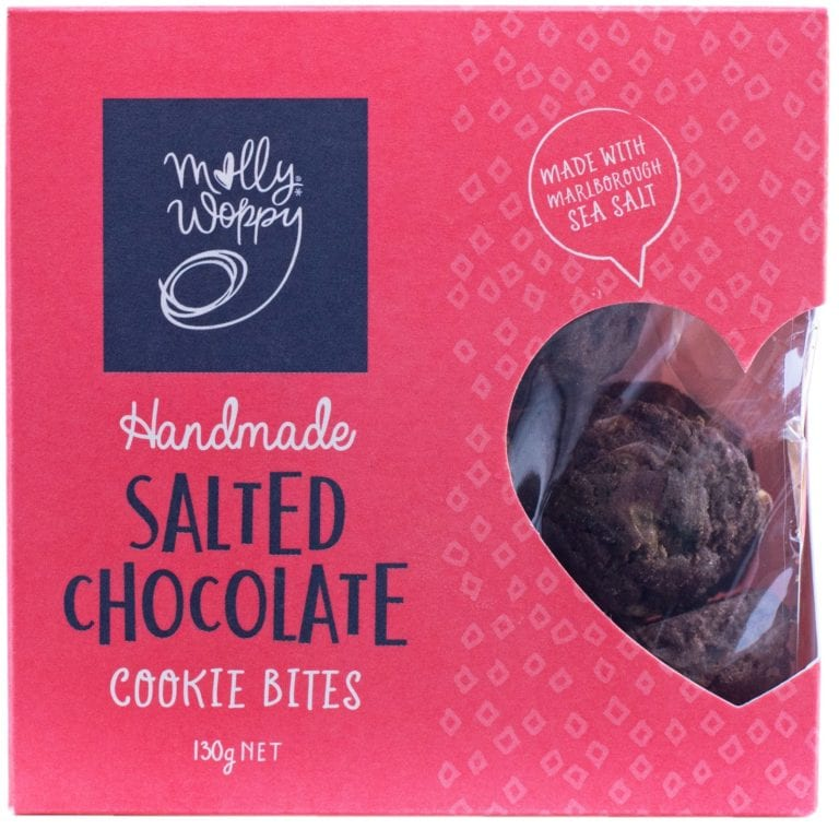 Molly Whoppy Salted Chocolate Cookie Bites