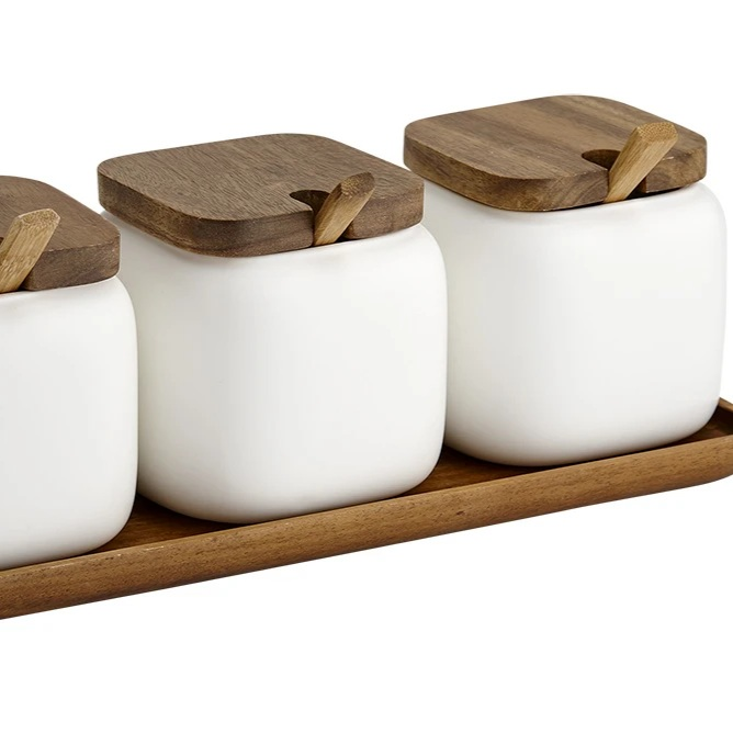 Essentials Collections Canister & Spoon