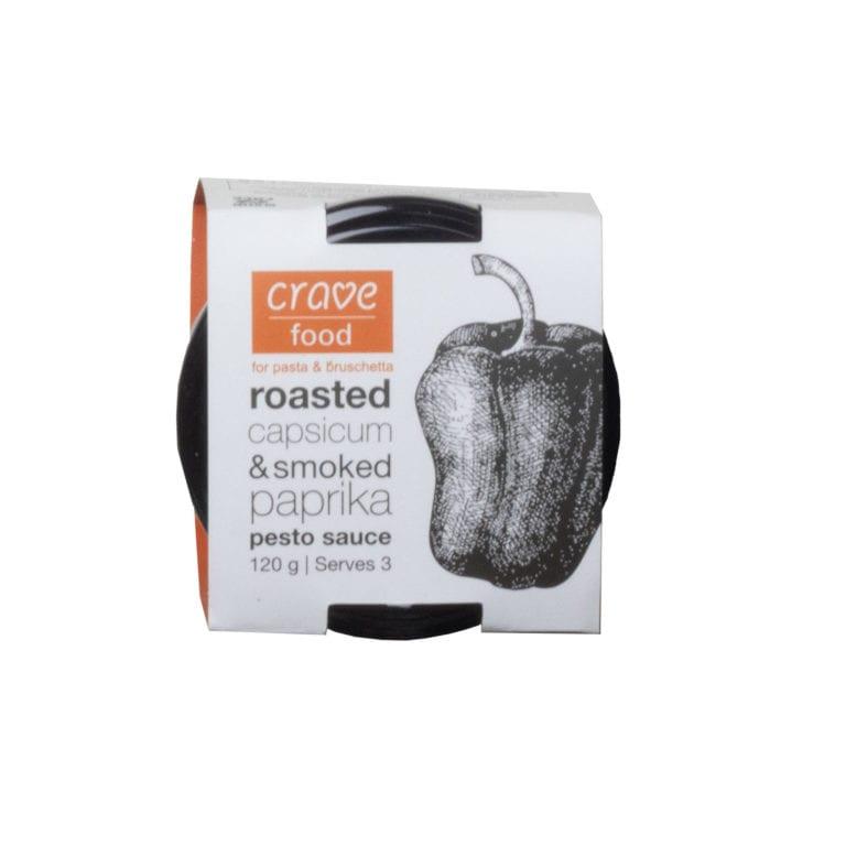 Roasted Capsicum & Smoked Paprika Pesto Sauce