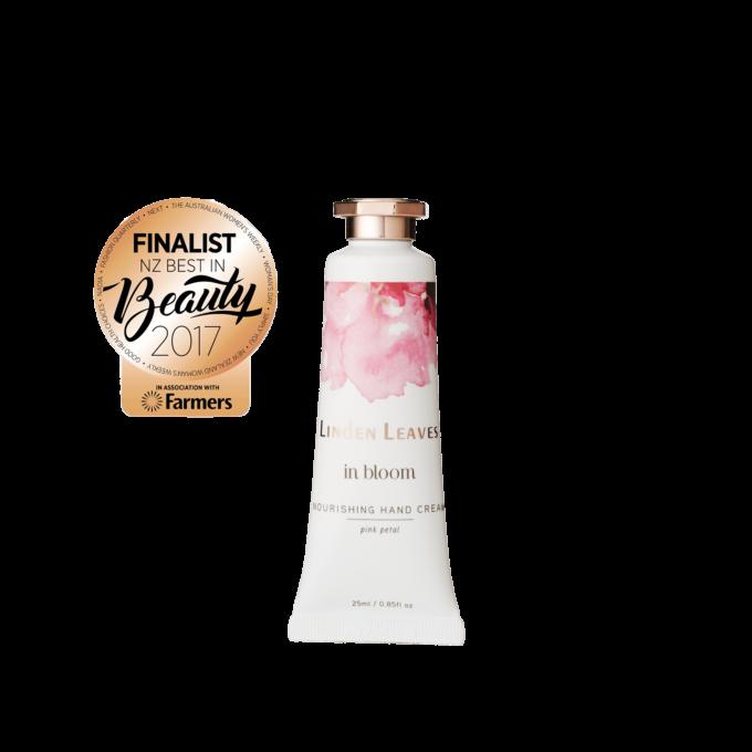 Linden Leaves Pink Petal Hand Cream