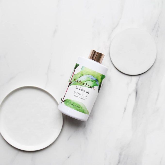 Linden Leaves Green Verbena Bubble Bath