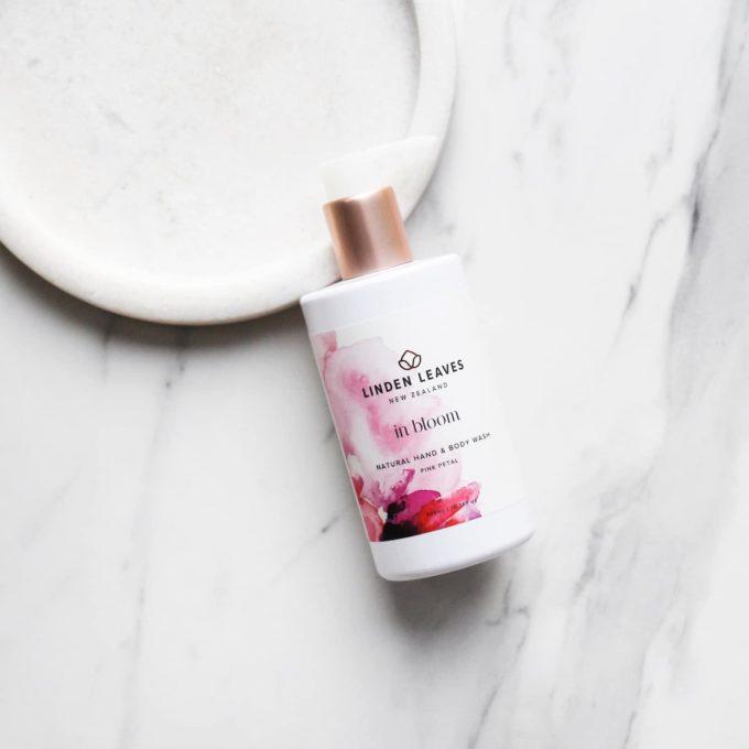 Linden Leaves Pink Petal Body Wash