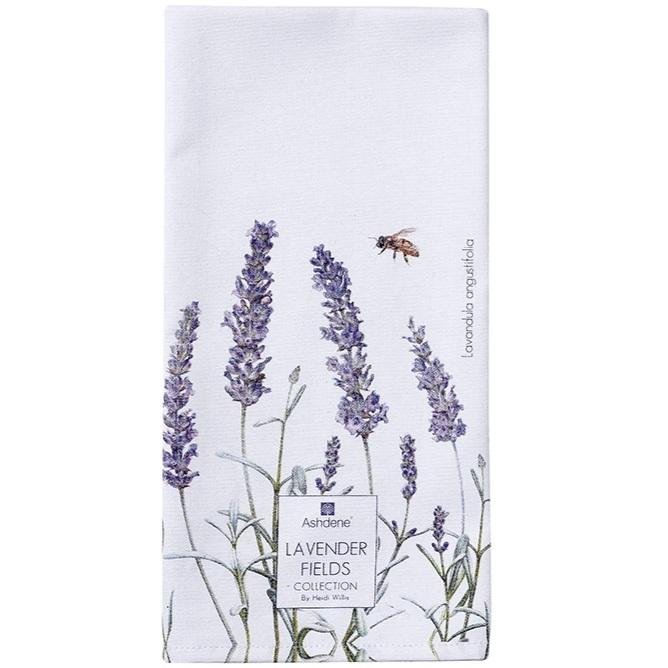 Ashdene Lavender Fields Tea Towel
