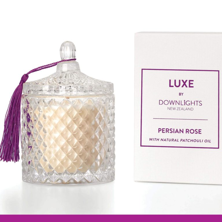 Down Lights Persian Rose Luxe Candle