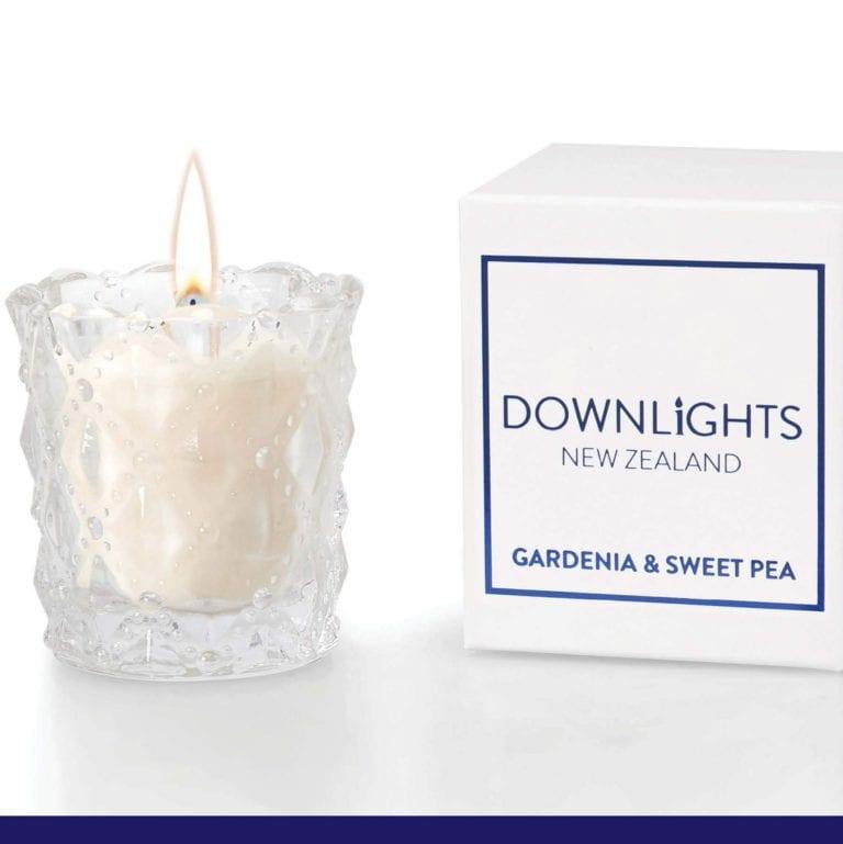 Downlights Mini Candle Gardenia & Sweet Pea